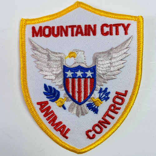 """Mountain City Animal Control ACO Johnson County Tennessee TN Patch (A4) 4"""""""