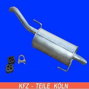 Nissan-Note-1-6-hasta-ano-FAB-4-2009-Silenciador-Sistema-de-escape-Kit