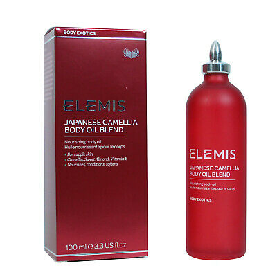 Fl Oz Body Oil - Elemis Japanese Camellia Body Oil Blend 100ml / 3.3 fl.oz BRAND NEW IN BOX