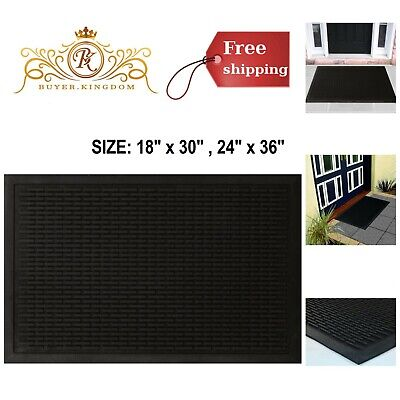 Rubber Doormats Door Floor Mats Rugs Non Slip Flame Resistant Indoor (Best Rubber Doors)