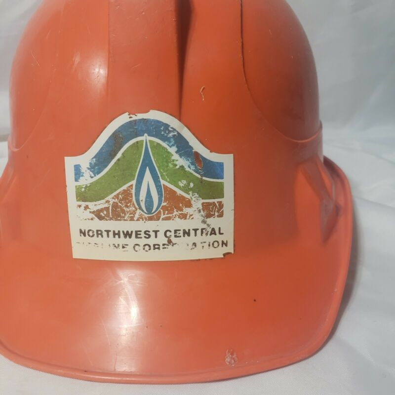 Vintage Northwest Central Pipeline Corporation Willson hard hat Made in the USA