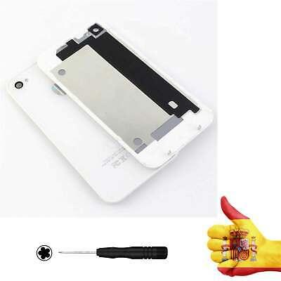 Tapa trasera iPhone 4 BLANCA Repuesto Carcasa bateria cubierta Chasis cover segunda mano  Embacar hacia Argentina