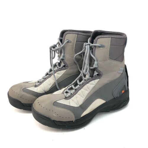 Korkers Amphibian series wading boots with interchangeable soles size 11
