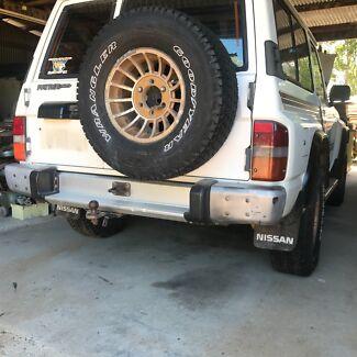 GQ patrol aluminium rear bumper
