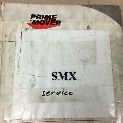 Bt Prime Mover Smx45 Service Shop Repair Manual Fork Lift Truck Pallet Walkie