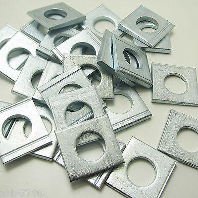 Vierkant-Scheiben ; Keilscheiben ; Unterlegscheiben Edelstahl ;Stahl verz