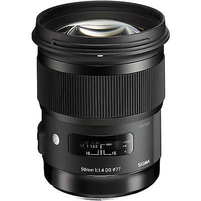 Sigma 50mm F1.4 DG HSM A Art Series Lens in Canon EOS fit (UK Stock) (Sigma 50mm F1 4 Dg Hsm Art)