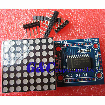 12510pcs Max7219 Dot Matrix Module Arduino Microcontroller Module Diy Kit M67