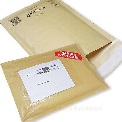 Mail lite rembourré enveloppes sacs blanc et or toutes tailles et quantités