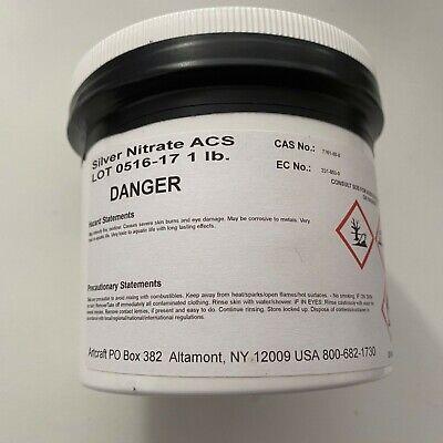 Silver Nitrate Acs 99.9 1 Lb.