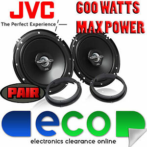 Ford Focus MK2 2005-07 JVC 17cm 6.5 Inch 600 Watts 2 Way Rear Door Car Speakers