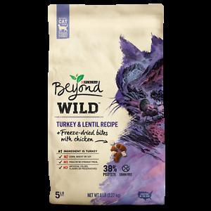 Purina Beyond Cat Food >> Purina Beyond High Protein Grain Natural Dry Cat Food Wild Turkey 5