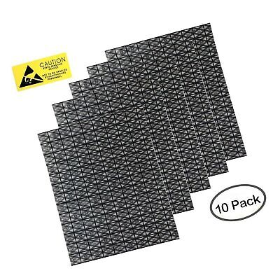Premium Open Top Antistatic Bag Large 12x16inches Esd Shielding Anti Static...