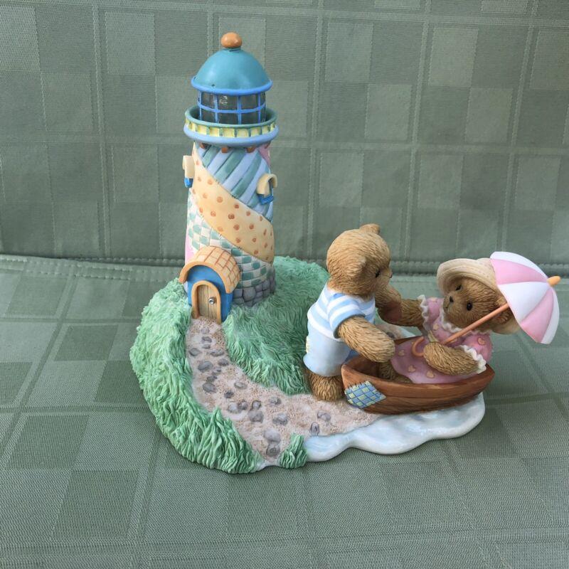 Cherished Teddies Lighthouse Friendship Enlightens the Soul 4003338