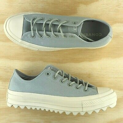 Converse Chuck Taylor All Star Low Top Lift Ripple Ox Platform Grey 559862C (Converse Chuck Taylor All Star Platform Low Top)