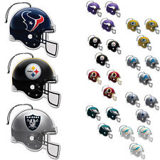 New NFL Pick Your Team Paper Hanging Air Freshener 3 pack Officially Licensed