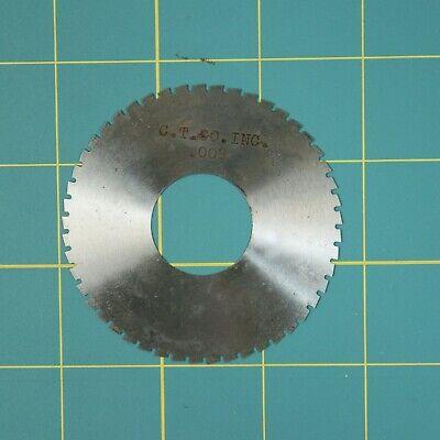 1one Slitting Slotting Saw Blade 0.008 X 2-34 Hss Machinist Cutting Tool