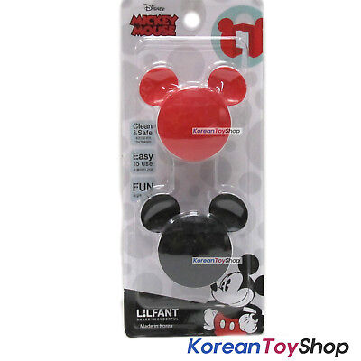 Disney Mickey Mouse Flipper Toothbrush Holder 2P Set Mirror Suction Holder