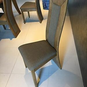 NEW CONTEMPORARY DINING CHAIRS -REDUCED  WAS $150 now $135each Wakerley Brisbane South East Preview