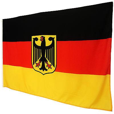 fahne deutschland mit adler 90 x 150 deutsche flagge. Black Bedroom Furniture Sets. Home Design Ideas