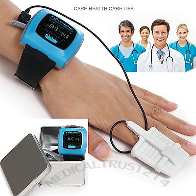 Medical Home Sporting Wrist Pulse Oximeter Blood Oxygen Spo2 Saturation Monitor