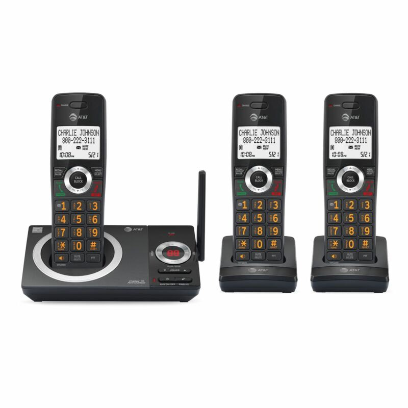 AT&T CL82319 3 Handset Answering System with Smart Call Block