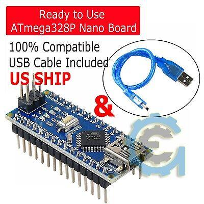 Mini Usb Nano V3.0 Atmega328p Ch340g 5v Micro-controller Board For Arduino Usb