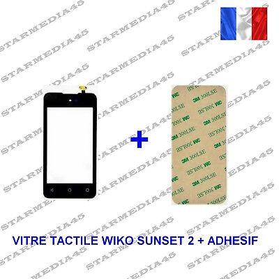 Tapa Pantalla Táctil Vidrio para Wiko Sunset 2 + Adhesivo (36)