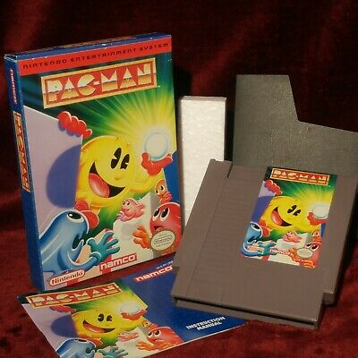 Namco Pac-Man✨Complete NICE Box ✨Nintendo NES Authentic Original Rare Licensed