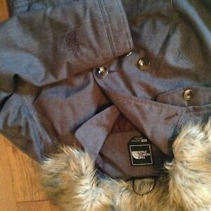 North face winter brown jacket, coat, excellent/ new conditio