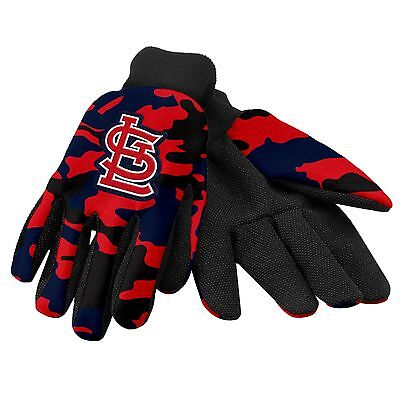 Louis Cardinals Camo (St. Louis Cardinals Camouflage Sports Utility Gloves Work gardening NEW CAMO )