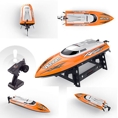 Udirc Venom 2 4Ghz Rc Electric Boat High Speed Racing Remote Control Boat Orange