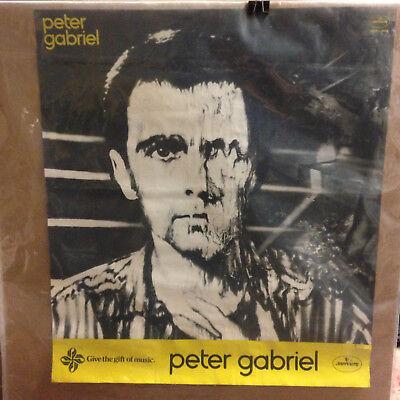 "Peter Gabriel 1980 ""Melt"" Original Promo Poster 22x25"