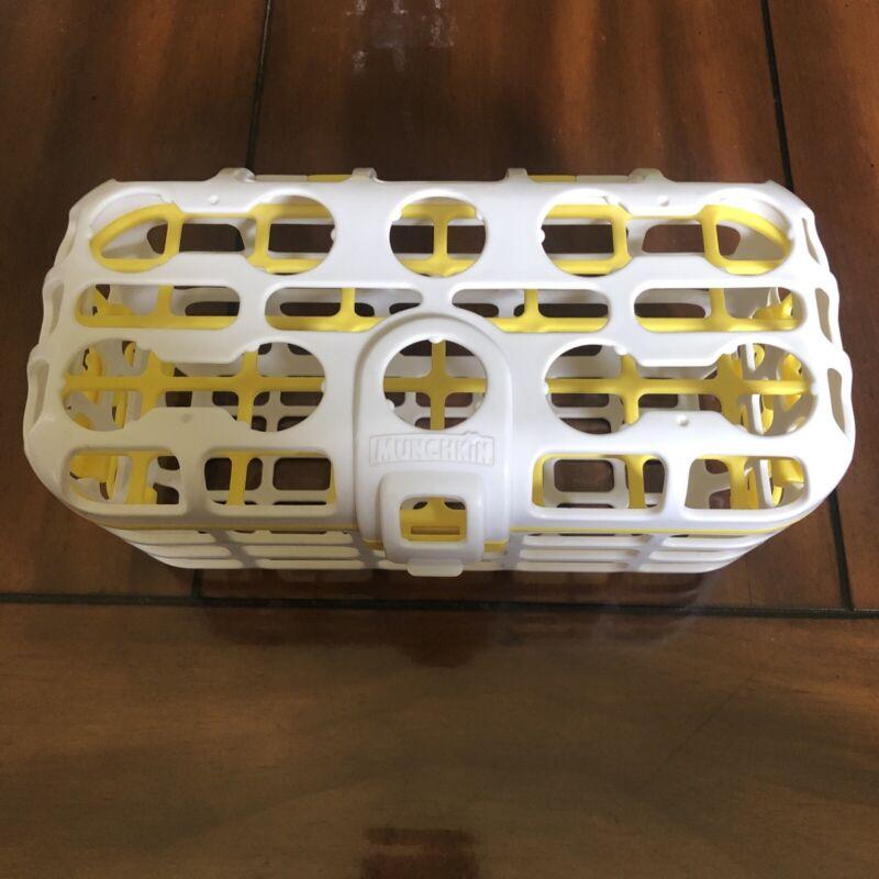 munchkin dishwasher basket Yellow