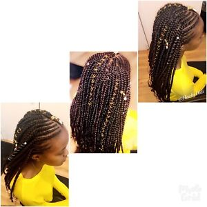 Coiffure africaine •• Tresse africaine ••Confection perruque