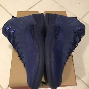 Air Jordan 12 XII Blue Suede sz 10