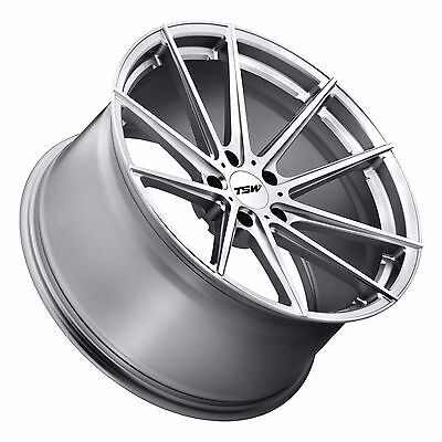 "20"" TSW Bathurst Silver w/ Cut Face 20x9 20x10.5 5x120 Fits BMW 5 6 7 series"