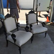 Antique Armchairs North Sydney Area Preview