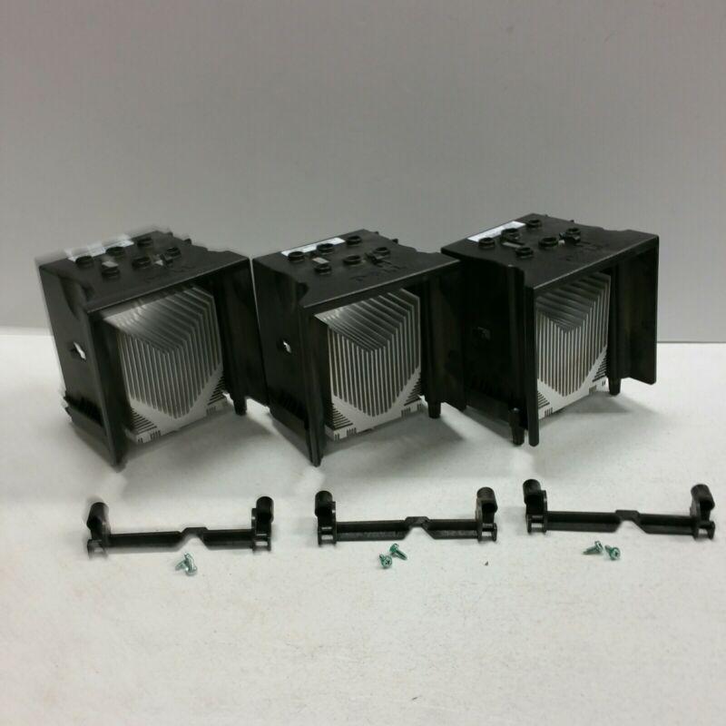 3 w/SUPPORT BRACKET OEM Dell Precision 380 390 T4300 CPU Heatsink & Shroud U9607