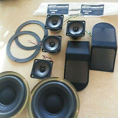 2 Bose 501 Series V Speaker Components