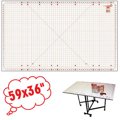 """Sewing Cutting Mat 59x36"""" For Home Hobby Table Accessory Paper Craft"""