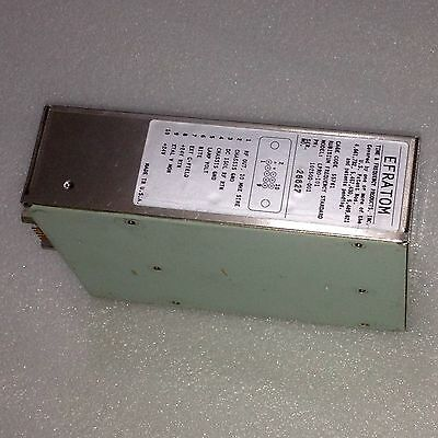 Rubidium Symmetricom Efratom Lpro-101 10mhz Oscillator 24v Excellent Condition