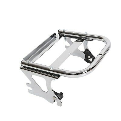 Detachable Two-up Tour Pak Pack Mounting Luggage Rack For Harley Touring 97-08 for sale  USA