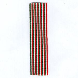 ITALY. Ribbon for the Medals for Independence, 1865 and for the War of 1915-18