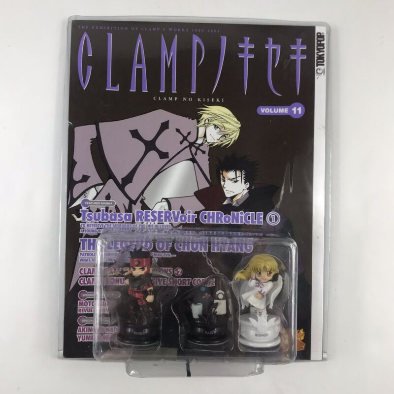 Clamp No Kiseki Book Vol. 11 Chess Piece Figure Set 26157 Knight Pawn Bishop New