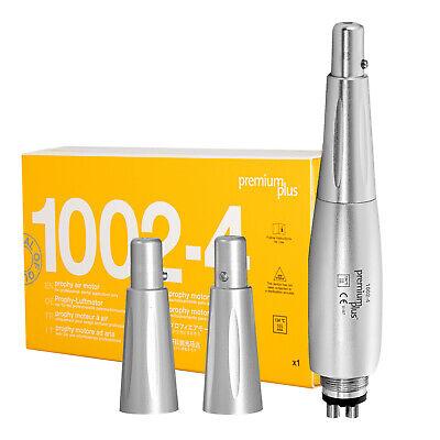Premium Plus Dental Prophy Air Motor Handpiece 4 Holes 3 Nose Cones 1002-4 Fda