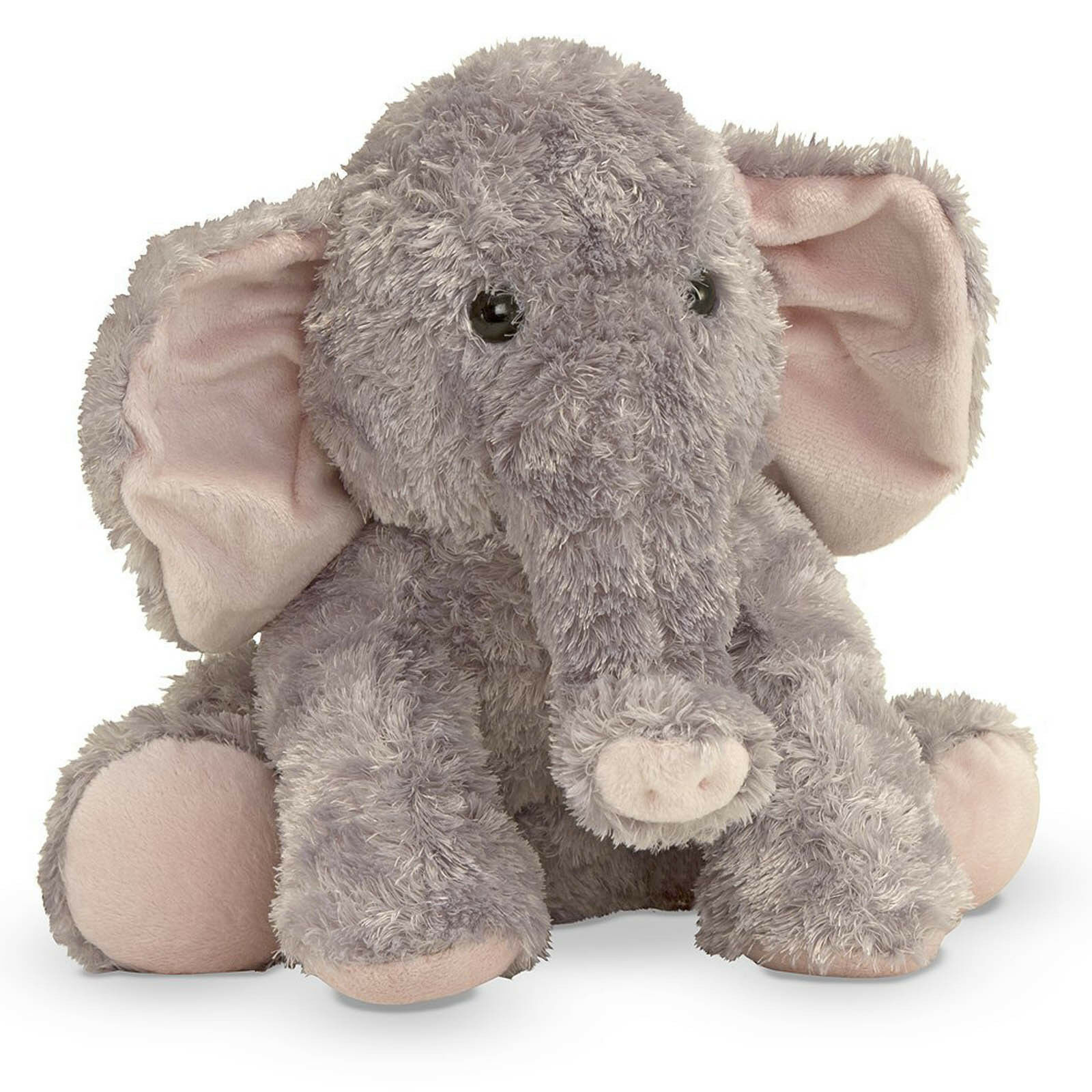 Melissa & Doug Sterling Elephant Stuffed Animal