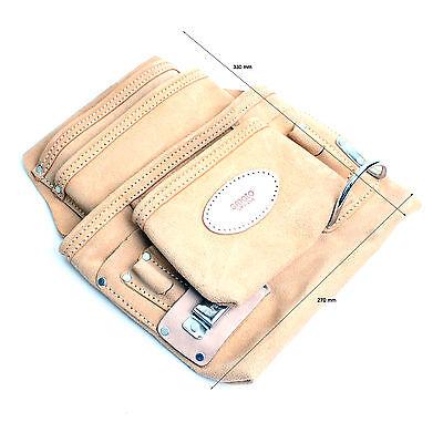 Tool Bag Pouch for Screws Nails Hammer Tool Belt Holder 2 Pocket KL-203 KOREA