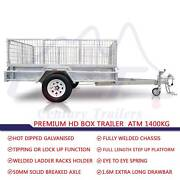 DRIVE AWAY 7x4 Galvanized Brake HD Trailer ATM 1400kg Rocklea Brisbane South West Preview
