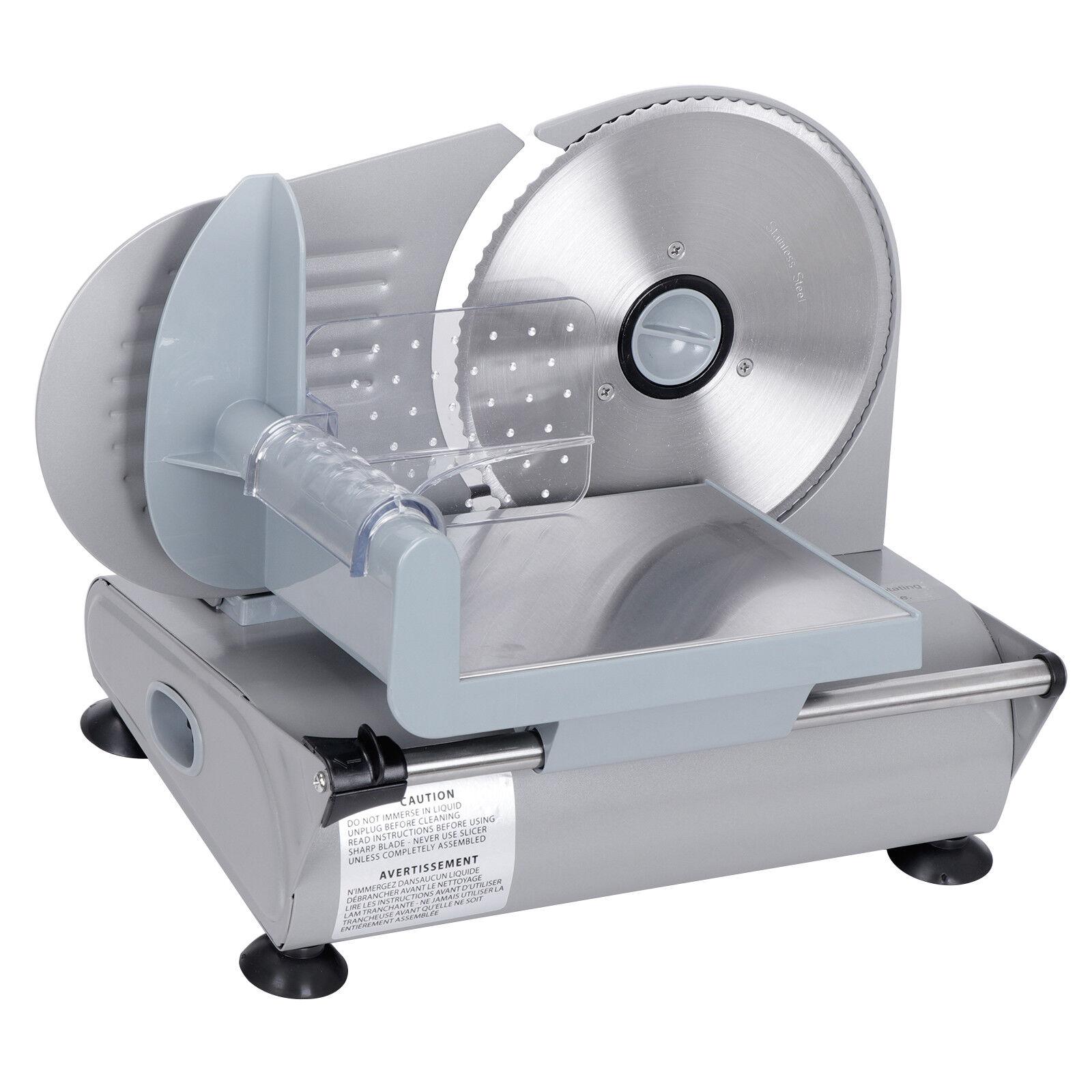 NEW 7.5″ Electric Meat Slicer Blade Home Deli Food Slicer Veggie Premium Kitchen Business & Industrial
